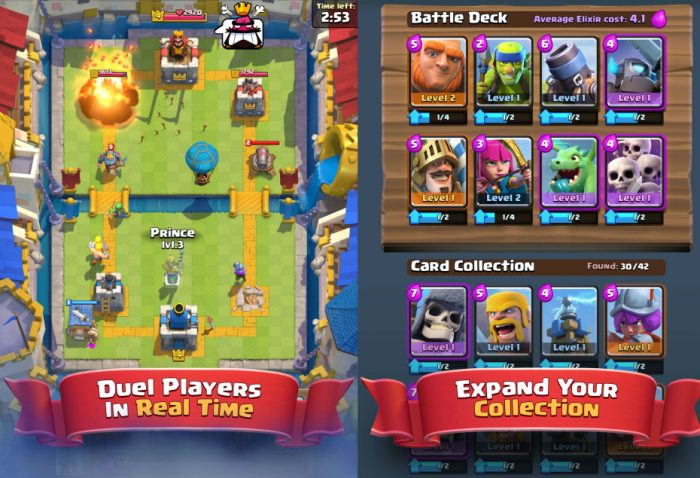 Batalla del Clan en Clash Royale.