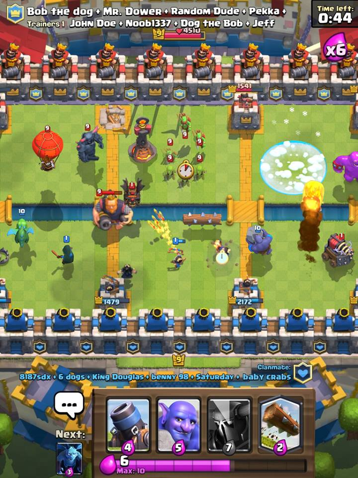 clash royale guerra 8 vs 8