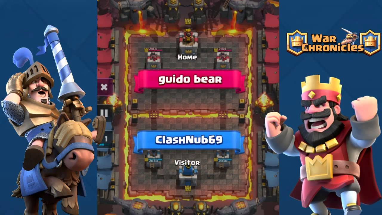 matchmaking de Clash Royale