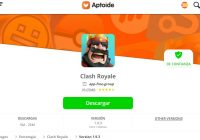 Descargar Clash Royale para Aptoide