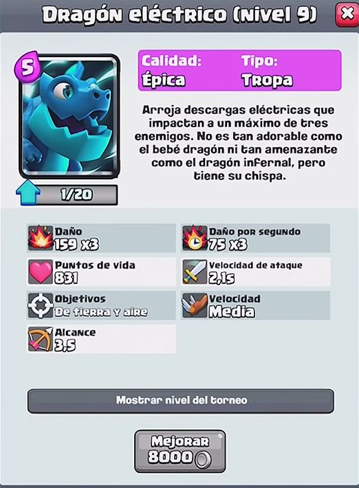 dragon epico carta